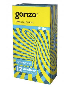 Презервативы Ganzo Ribs N12