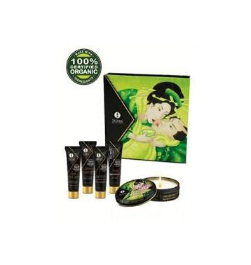 Набор Geisha's Secret ОРГАНИКА Экзотический зеленый чай , из 5 предметов