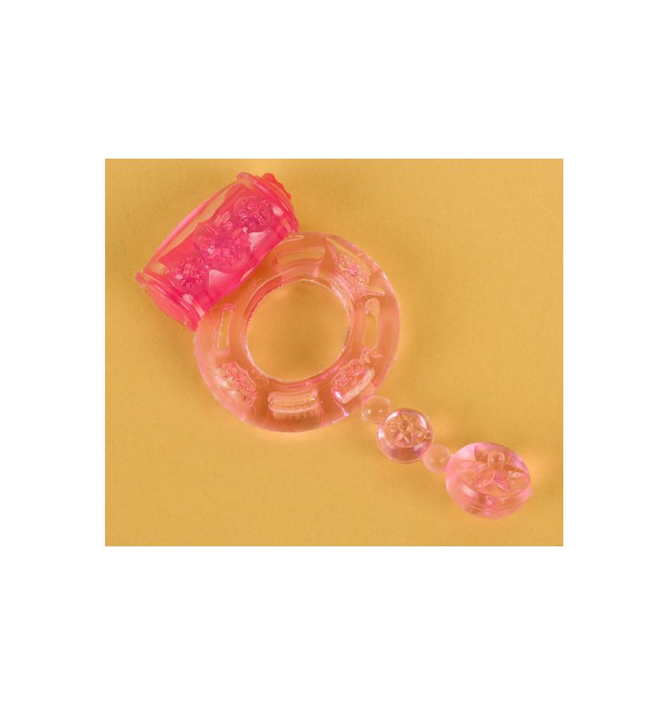 Виброкольцо розовое 818039-3