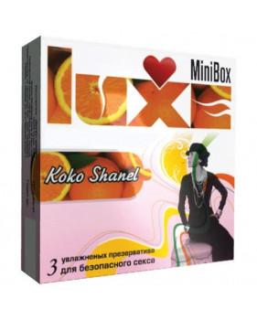 Презервативы Luxe №3 Коко Шанель