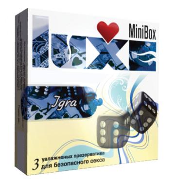 Презервативы LUXE MINI BOX ИГРА №3