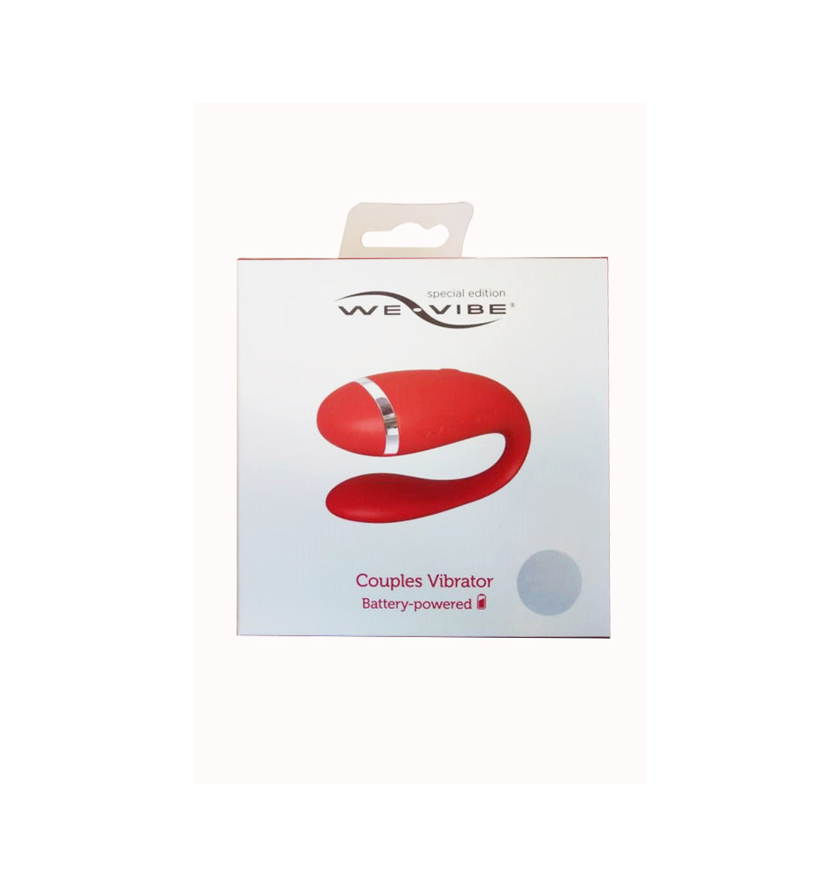 WE-VIBE Special Edition вибромассажер красный на батарейках