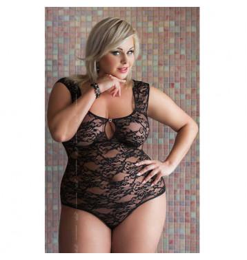 Anna Боди черное. Размер Plus Size XL