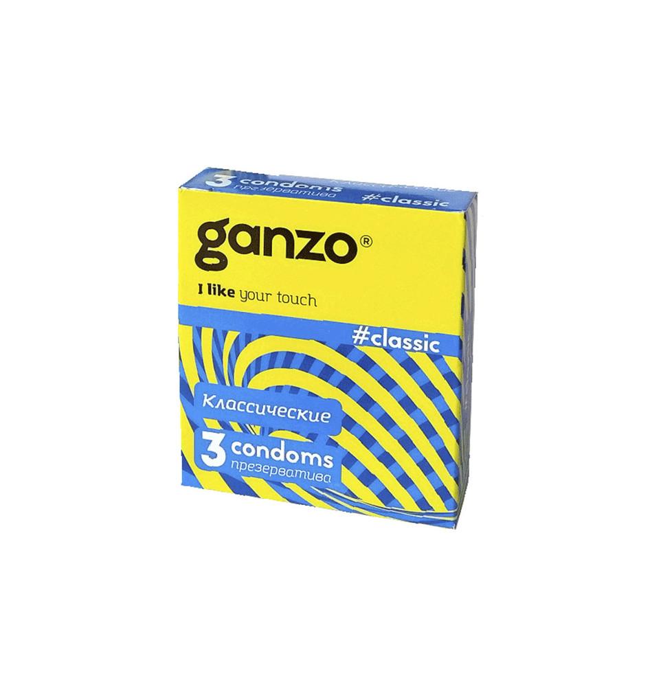 Презервативы GANZO Classic N3