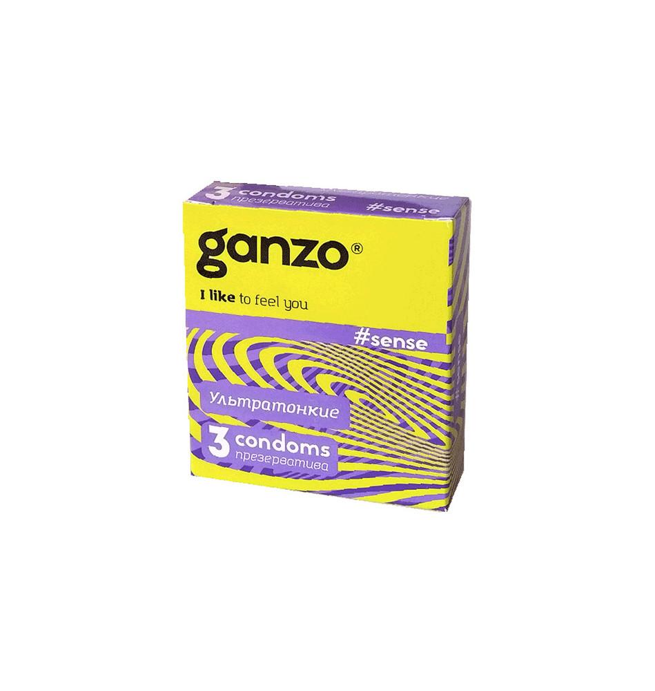 Презервативы Ganzo Sense №3
