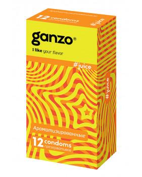 Презервативы Ganzo Juice N12