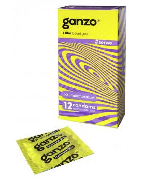 Презервативы GANZO Sense N12
