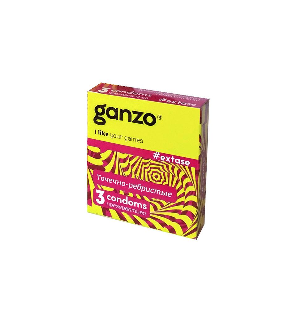 Презервативы Ganzo Extase N3