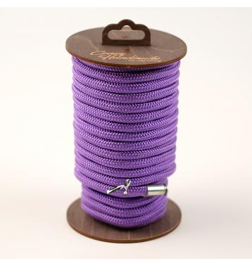Нейлоновая веревка для шибари , 10 м. Фиолетовая.