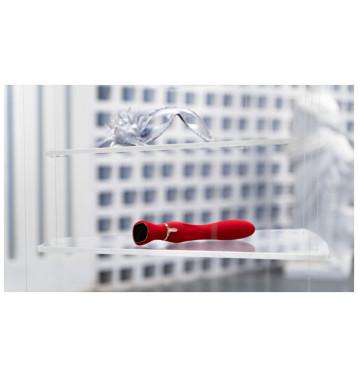 Viotec MIRACLE CHANCE красный Инновационный вибростимулятор с SCREEN-TOUCH управлением