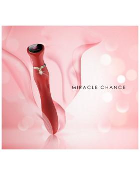 Viotec MIRACLE CHANCE розовый Инновационный вибростимулятор с SCREEN-TOUCH управлением