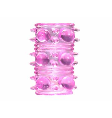 Насадка на пенис Rings Armour pink