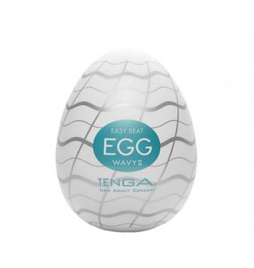 TENGA Egg Мастурбатор яйцо Wavy II