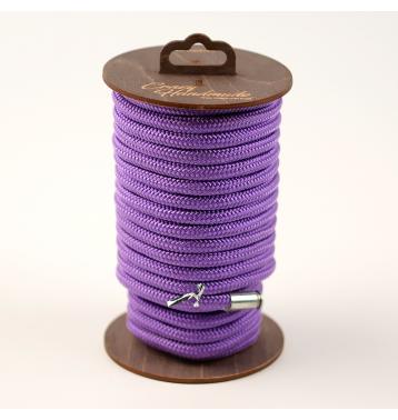 Нейлоновая веревка для шибари, на катушке (Фиолетовая), 20 м.