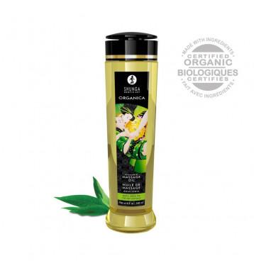 Массажное масло Зеленый чай серии Органика 240 МЛ.