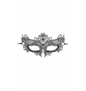 Кружевная маска ручной работы на глаза Queen Black Lace Mask