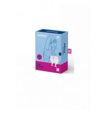 Набор менструальных чаш Satisfyer Feel secure Menstrual Cup (Transparent)