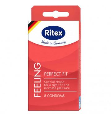 Презервативы Ritex Perfect Fit анатомической формы с накопителем - 8 шт.