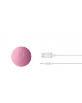 Розовый универсальный Вибростимулятор с игривыми подвижными тентаклями SVAKOM Nymph Soft Moving Finger Vibrator