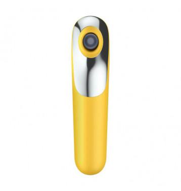 Вакуумно-волновой стимулятор Dual Love желтый