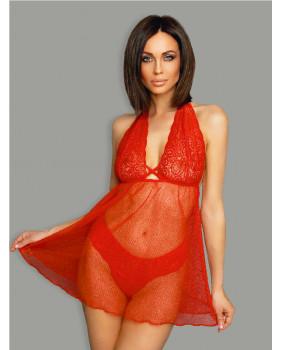 Эротическое платье красное