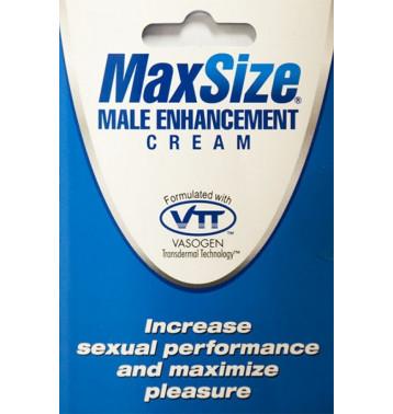 Крем MaxSize для улучшения мужской эрекции 5мл