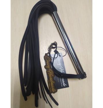 Плеть черная Crazy Handmade с металической ручкой