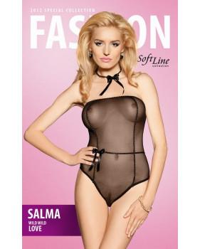 xSalma Боди черное, размер S/M