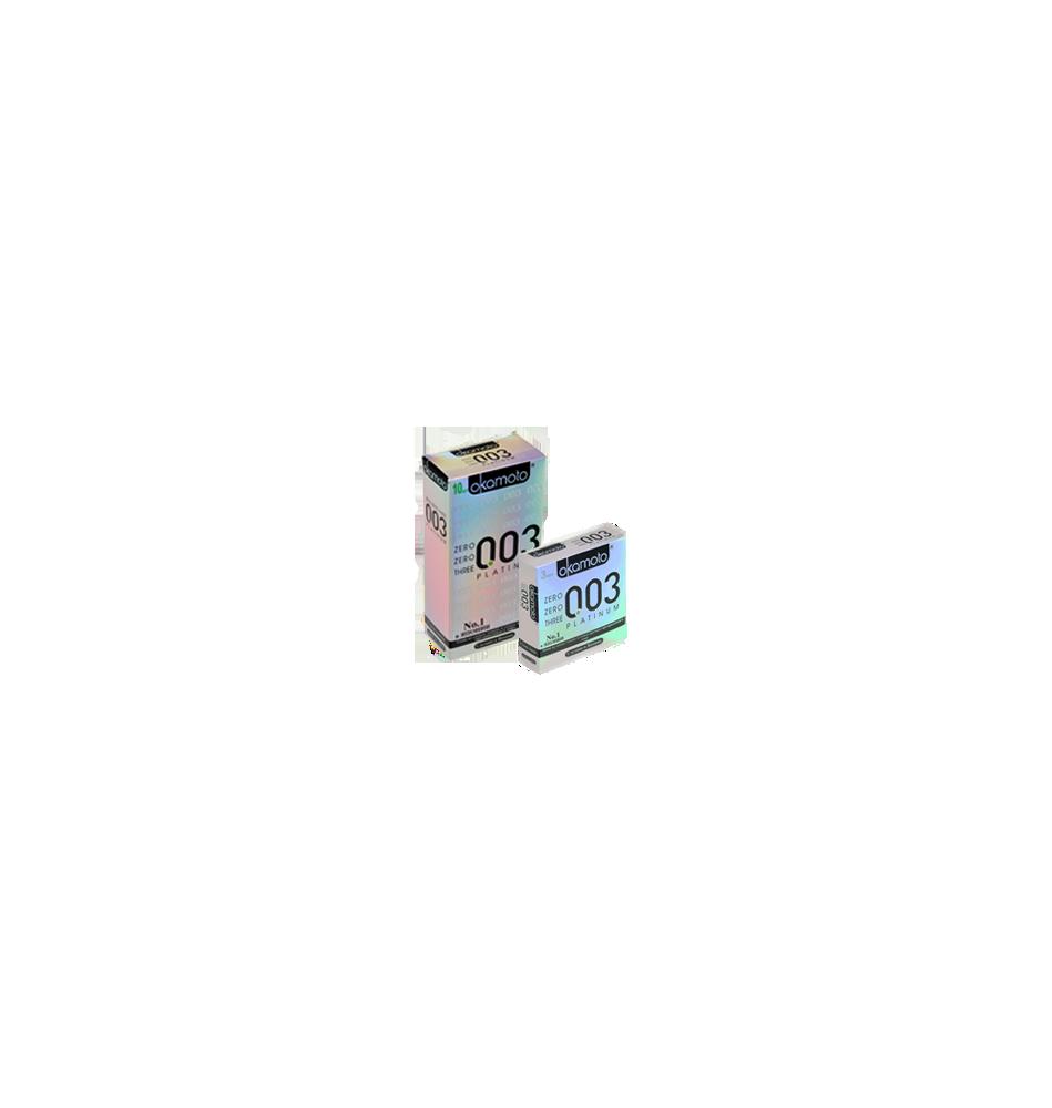 Презервативы Okamoto Platinum 10шт