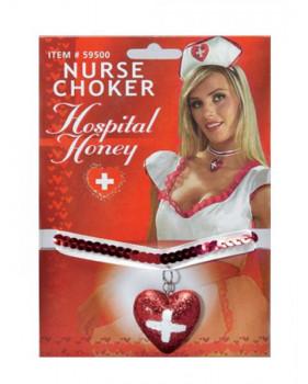 Кулон медсестры блестящий