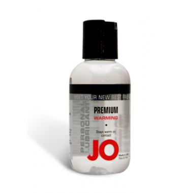 Возбуждающий любрикант на силиконовой основе JO Personal Premium Lubricant  Warming, 2.5 oz (60 мл)