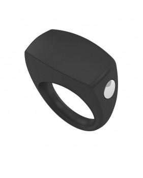 Эрекционное кольцо черное Хит B6-1