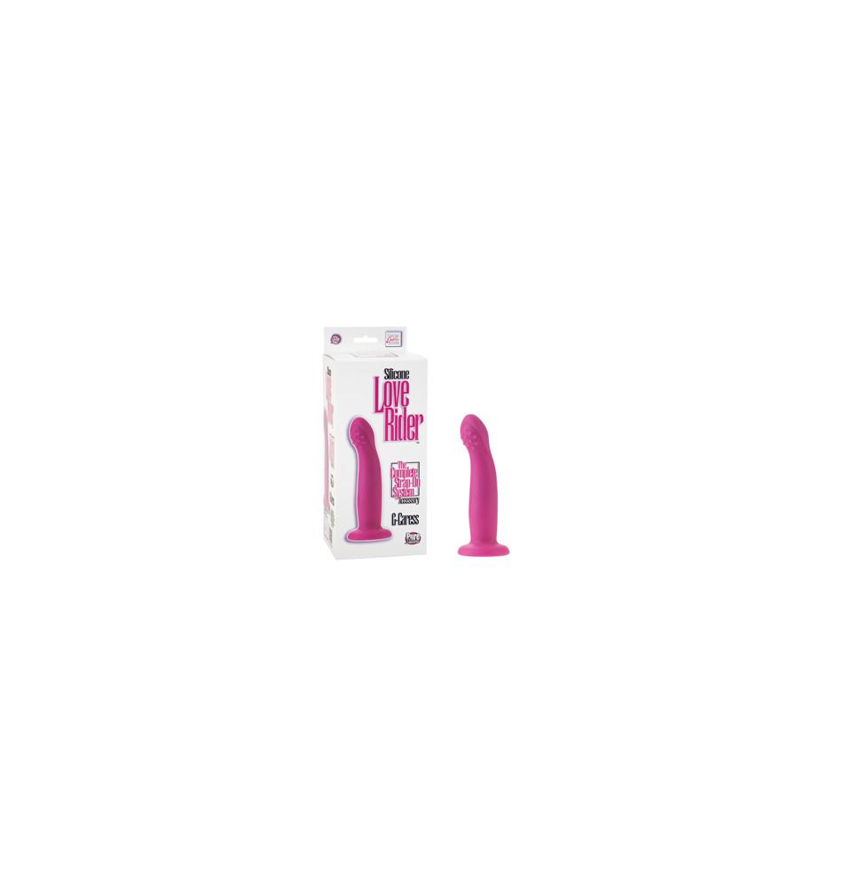 Фаллоимитатор-насадка G-Caress на присоске из силикона розовый