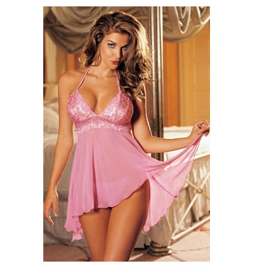 Forever Пеньюар розовый, размер М