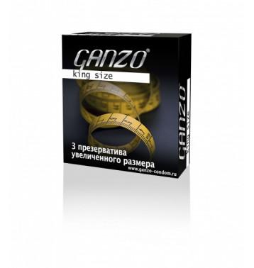 Презервативы Ganzo King Size №3